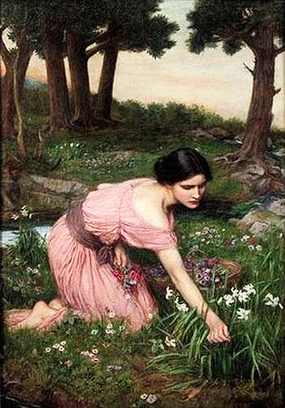 Spring Spreads One Green Lap of Flowers John William Waterhouse